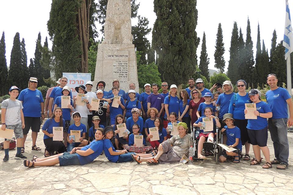 מסע בר מצווה בשביל ישראל עם מדרשת בשבילנו