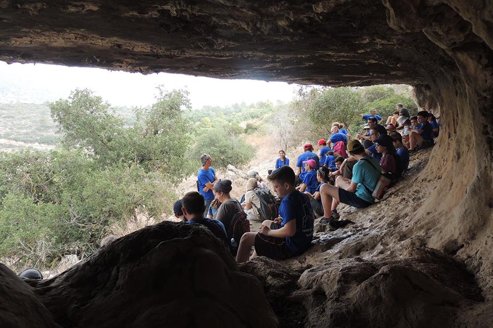 מסע בר מצווה מיוחד בשביל ישראל