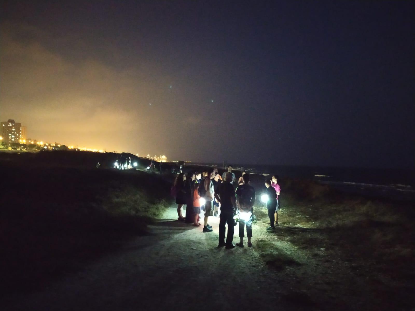 ערב עששיות בנמל קיסריה - בשבילנו